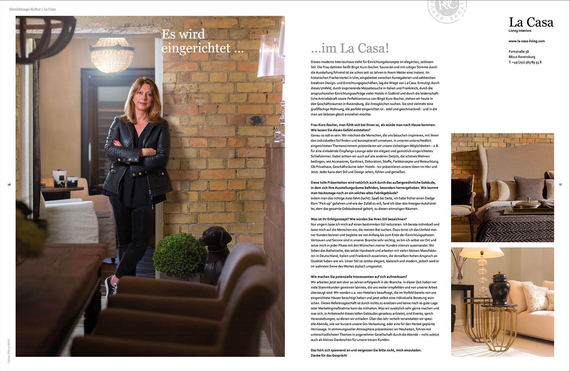 La Casa - Living Interiors - Gutmacher - Lust auf Gut