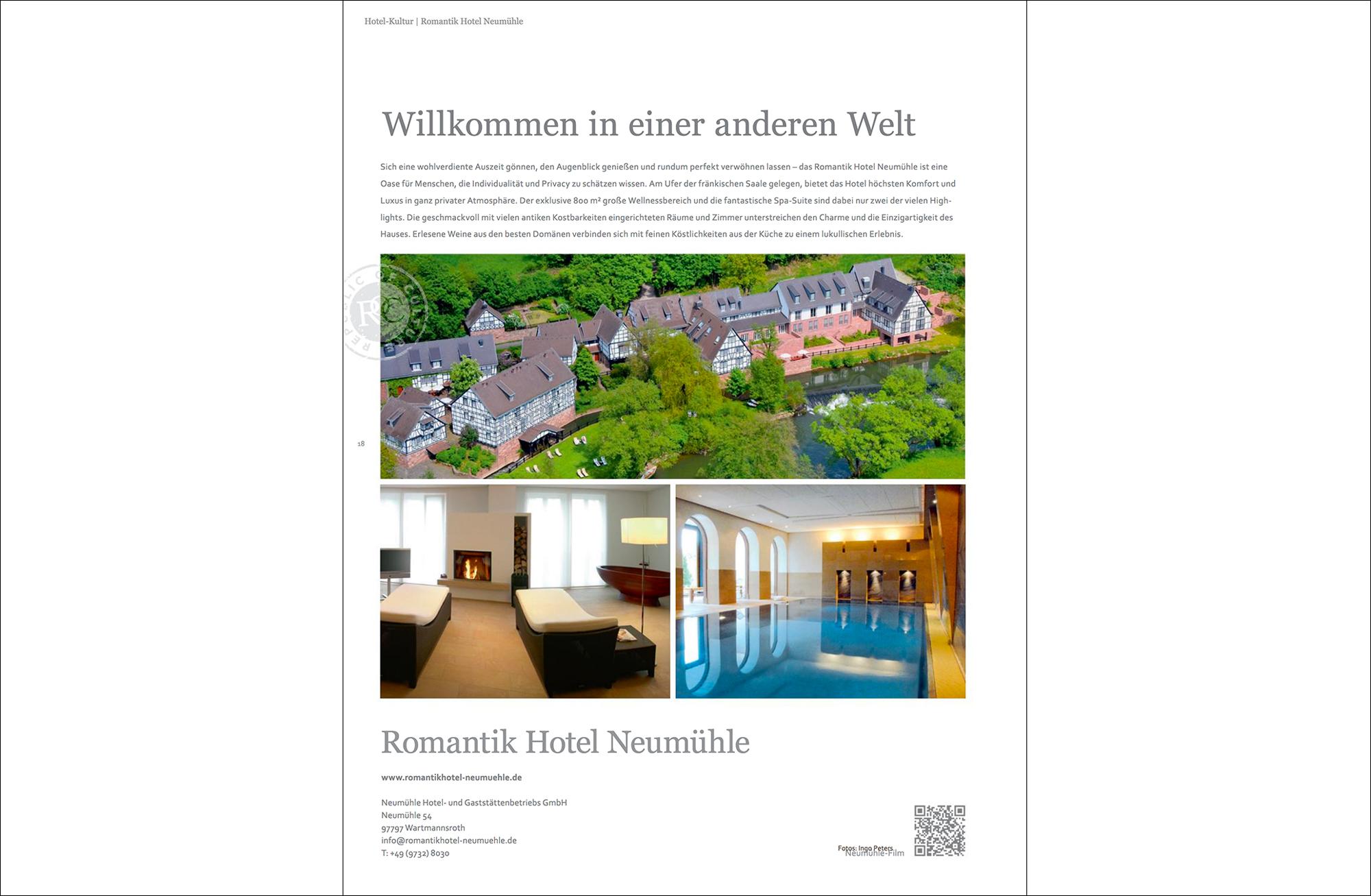 Romantik Hotel Neumühle romantik hotel neumühle gutmacher lust auf gut