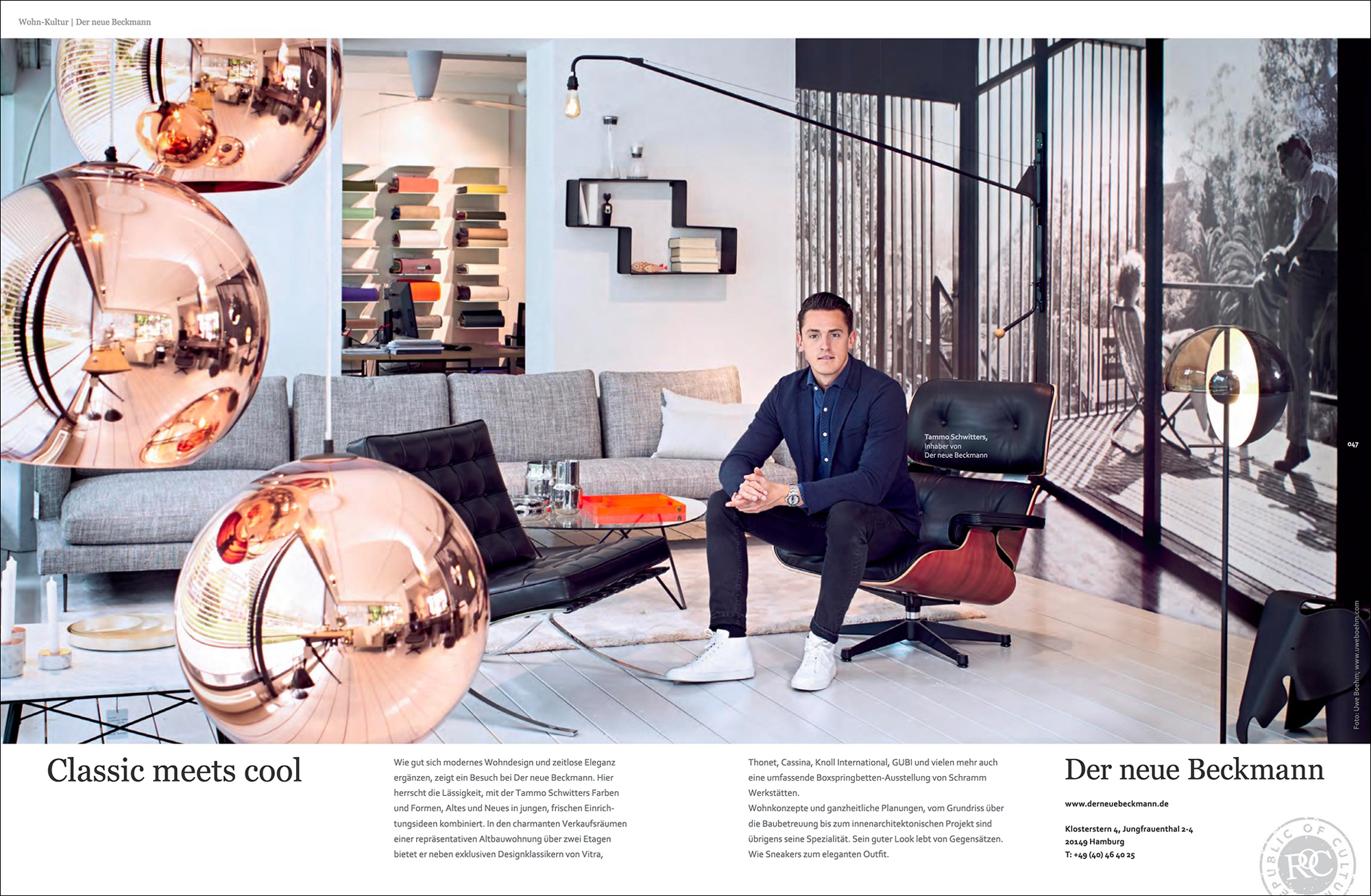 Beckmann Moderne Möbel der neue beckmann gutmacher lust auf gut
